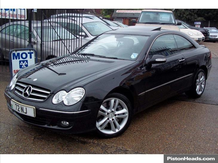 mercedes-benz clk 500 avantgarde #8