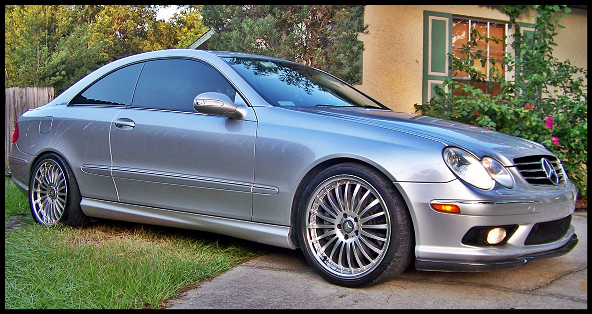 mercedes-benz clk 500 coupe #0