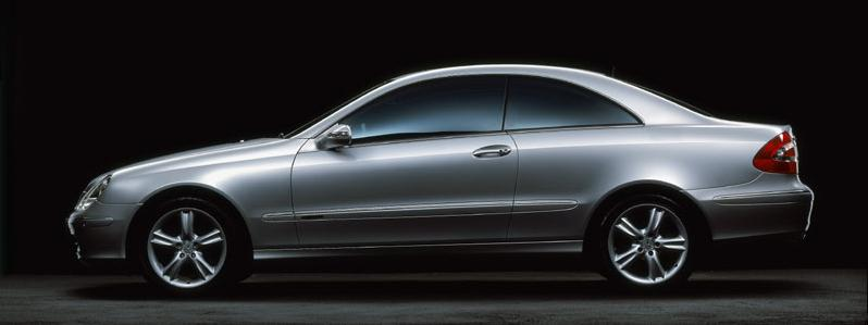 mercedes-benz clk 500 coupe #1