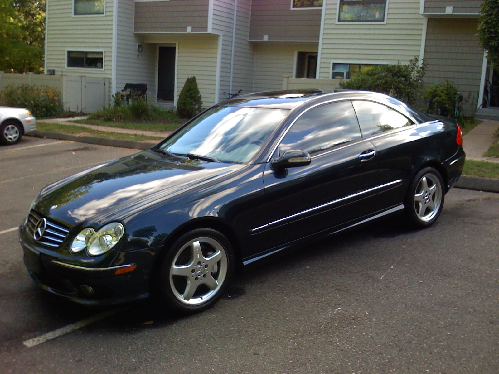 mercedes-benz clk 500 coupe #2