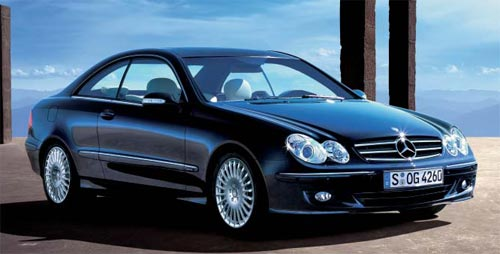mercedes-benz clk 500 coupe #8