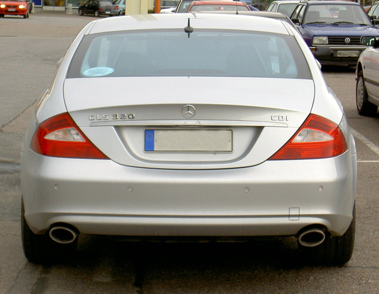 mercedes benz cls 320 cdi photos and comments www. Black Bedroom Furniture Sets. Home Design Ideas