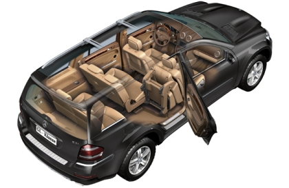 mercedes benz gl 450 cdi photos and comments. Black Bedroom Furniture Sets. Home Design Ideas