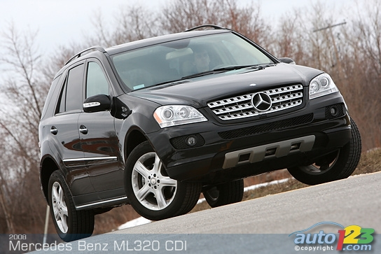 mercedes-benz ml 320 cdi #4