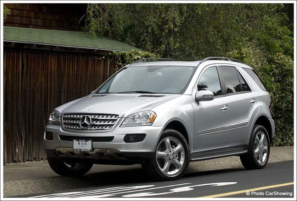 Mercedes benz ml 350 4matic photos and comments www for Mercedes benz ml350 4matic 2006