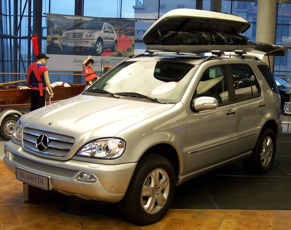 mercedes-benz ml 400 cdi-pic. 1