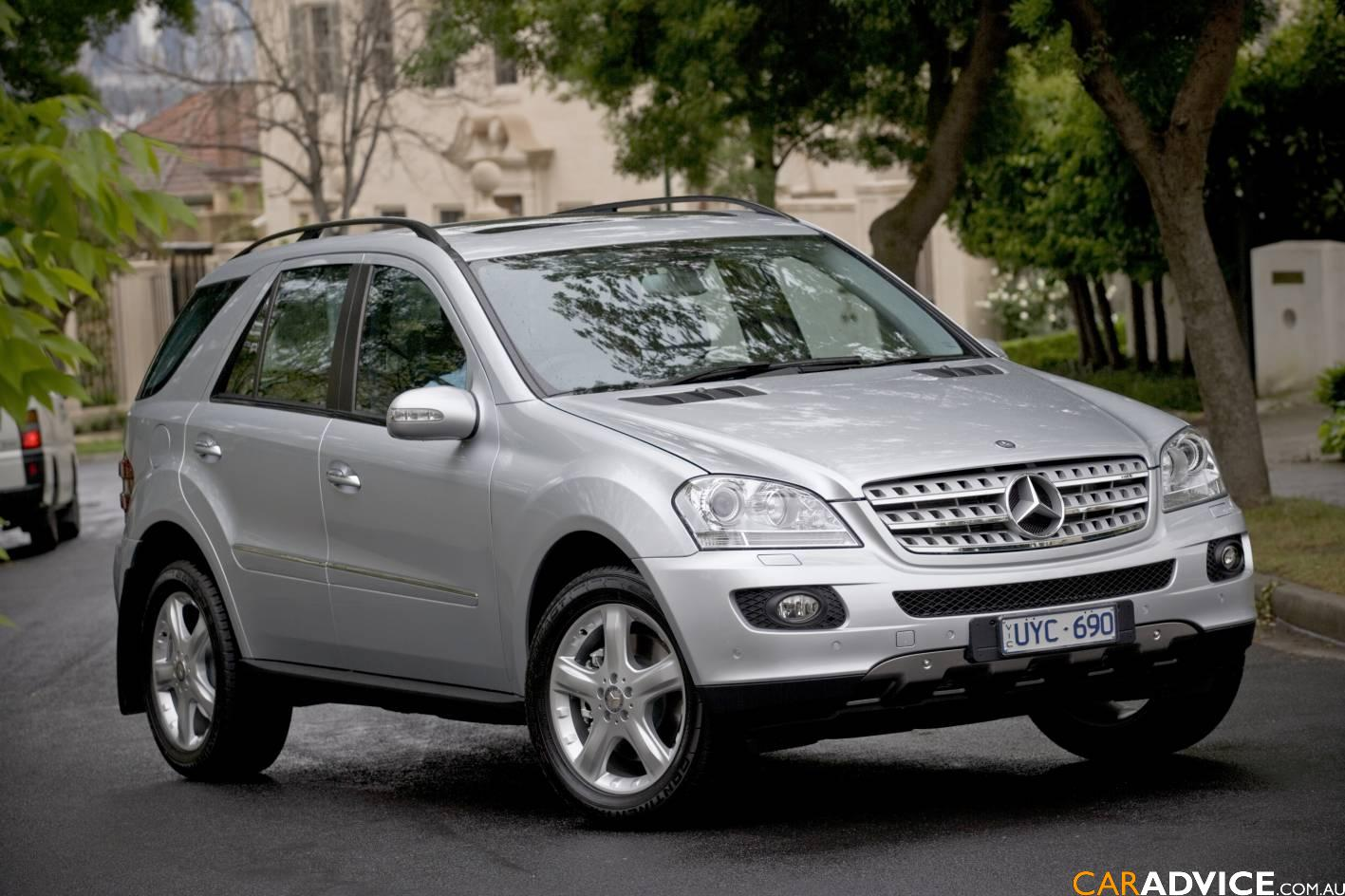 mercedes benz ml 500 photos and comments