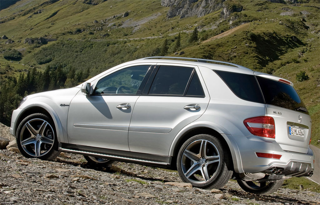 mercedes-benz ml 55 amg #0