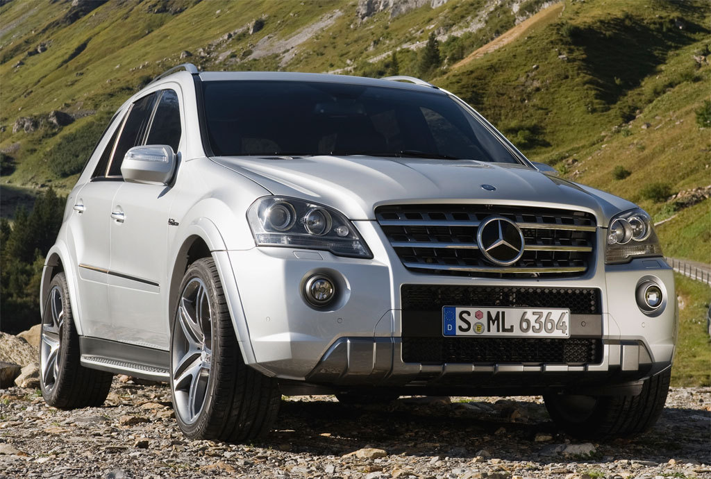 mercedes-benz ml 55 amg #2