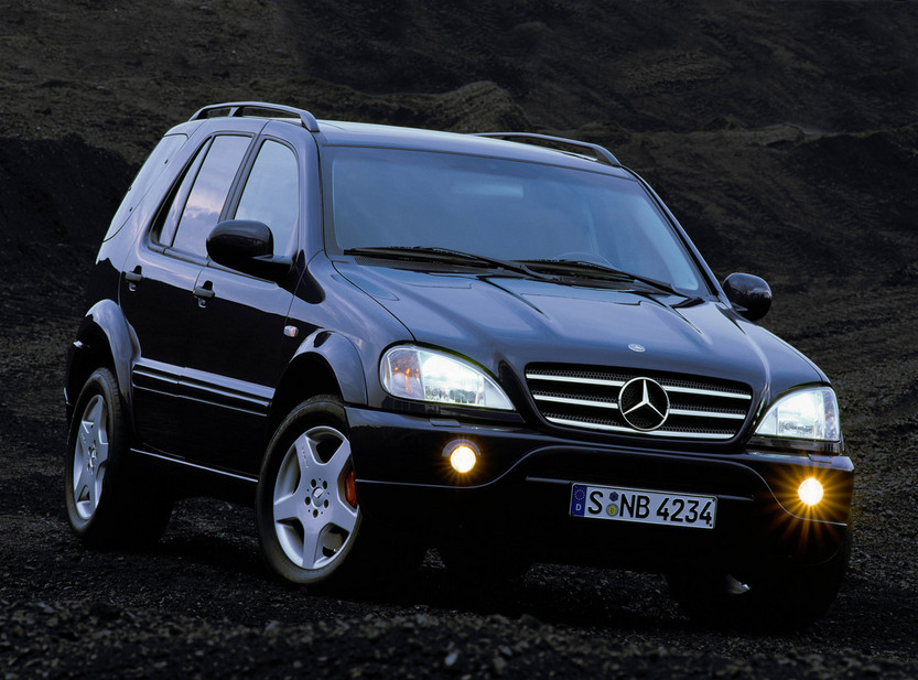 mercedes-benz ml 55 amg #7