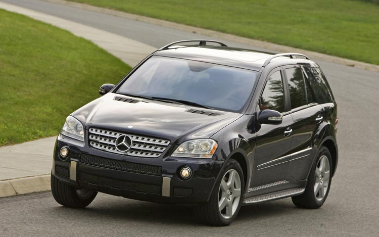 mercedes-benz ml 550 #7