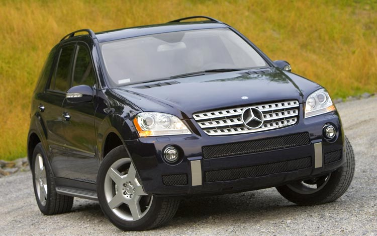 mercedes-benz ml 550 #8