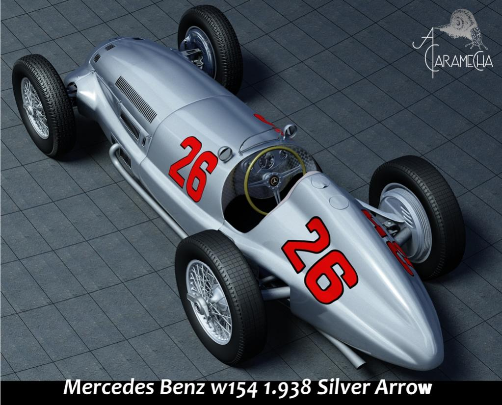 mercedes-benz silver arrow #3