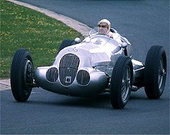 mercedes-benz silver arrow #4