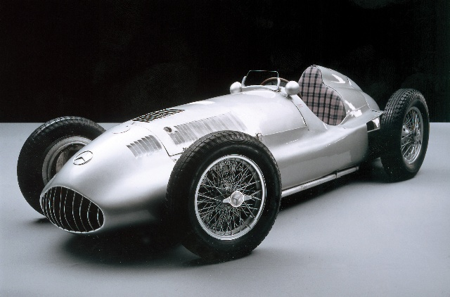 mercedes-benz silver arrow #6