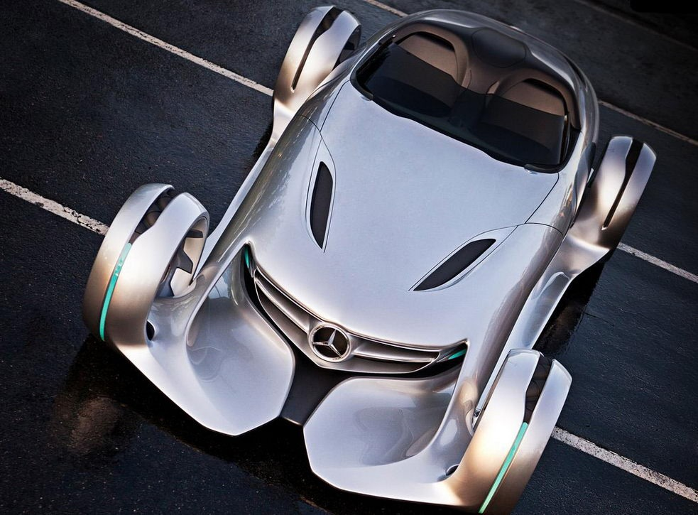 mercedes-benz silver arrow #8