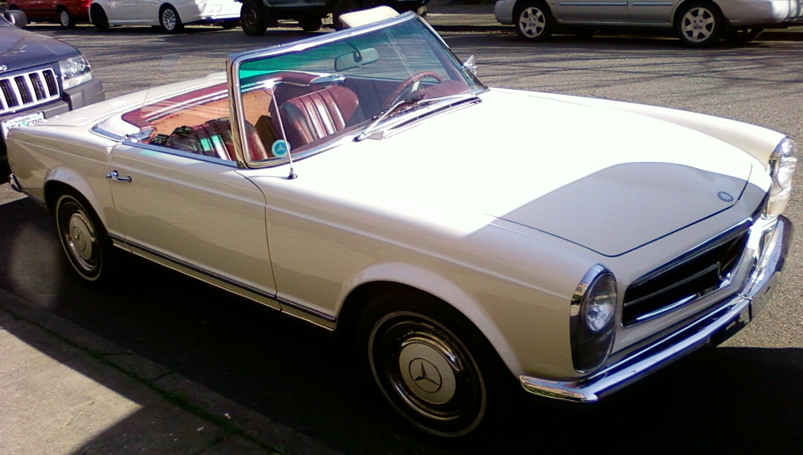 mercedes-benz sl 250 #8
