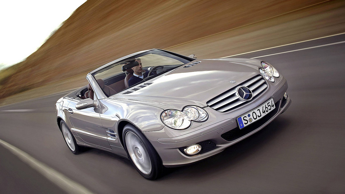 mercedes-benz sl 500 roadster-pic. 2
