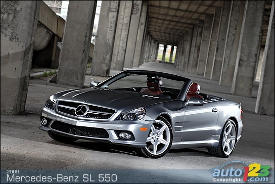 mercedes-benz sl 550 roadster-pic. 1
