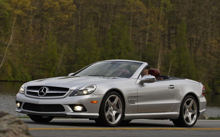 mercedes-benz sl 550 roadster-pic. 2