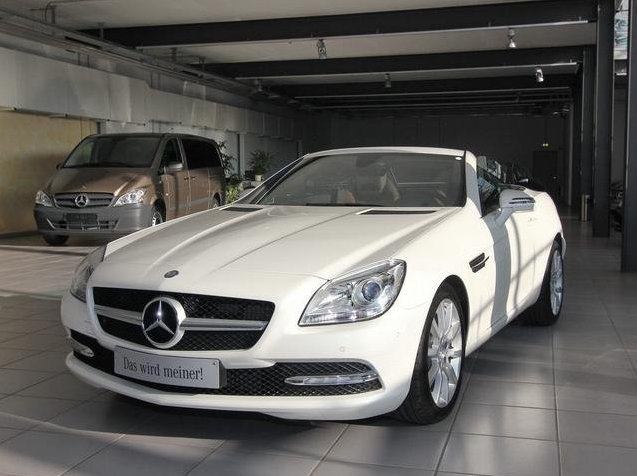 mercedes-benz slk 200 blueefficiency #3