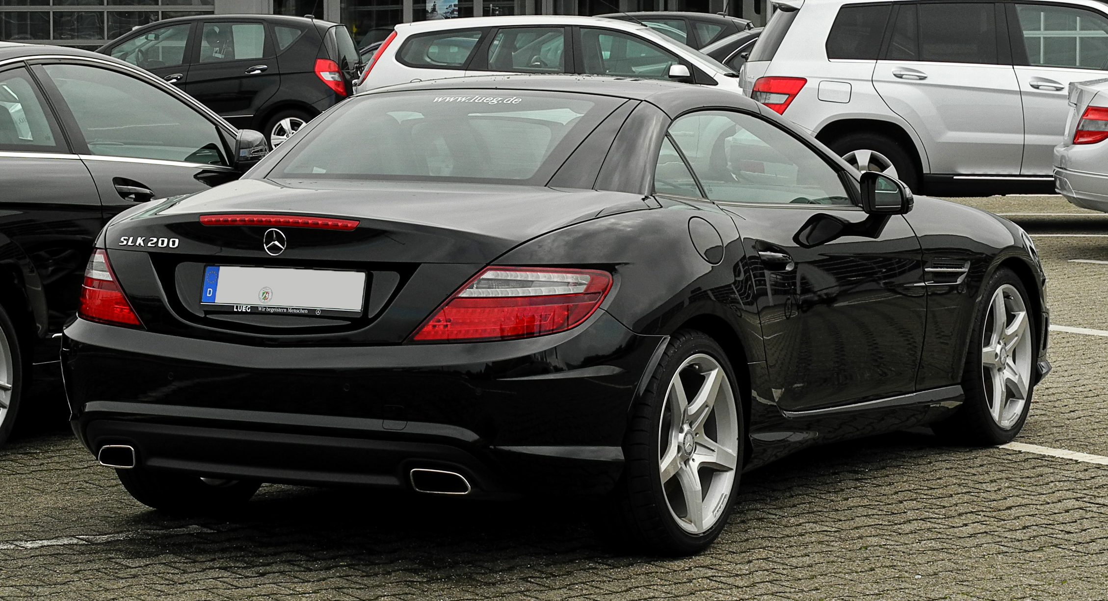 mercedes benz slk 200 blueefficiency photos and comments. Black Bedroom Furniture Sets. Home Design Ideas