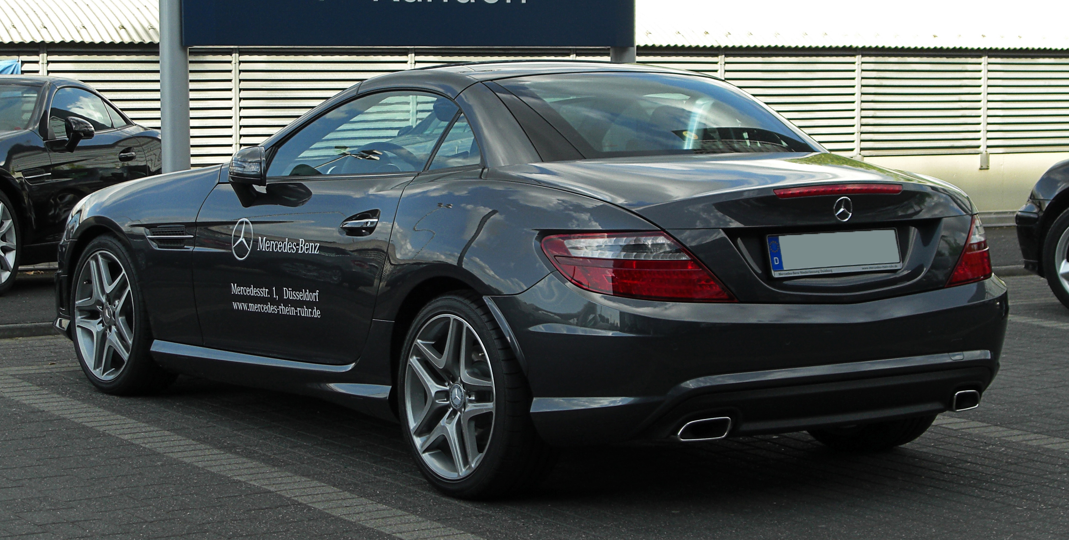mercedes-benz slk 350 blueefficiency-pic. 1