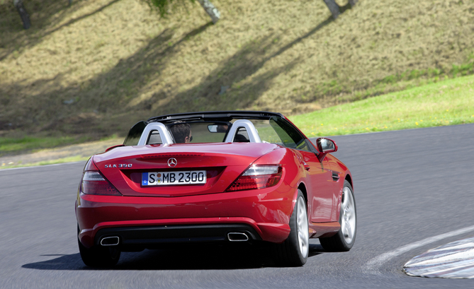 mercedes-benz slk 350 blueefficiency #3