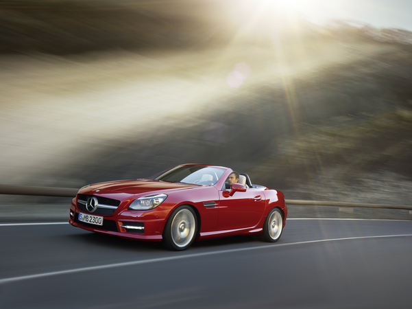 mercedes-benz slk 350 blueefficiency #4