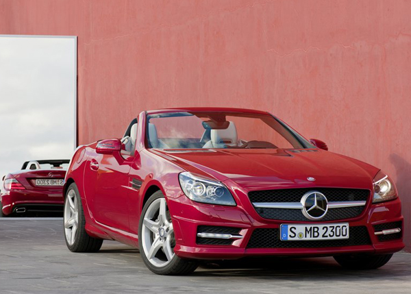 mercedes-benz slk 350 blueefficiency #6