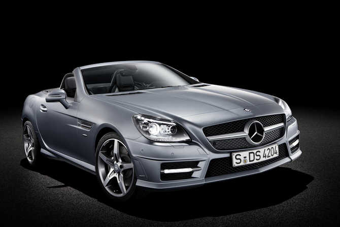 mercedes-benz slk 350 blueefficiency #8