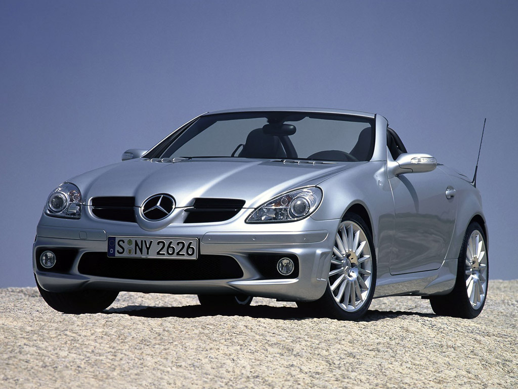 mercedes-benz slk 350 roadster-pic. 1