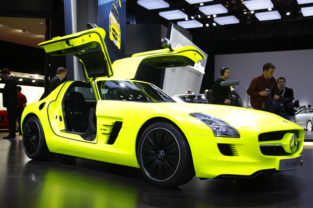 mercedes-benz sls amg e-cell-pic. 2