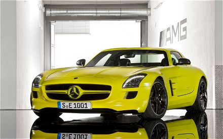 mercedes-benz sls amg e-cell-pic. 3