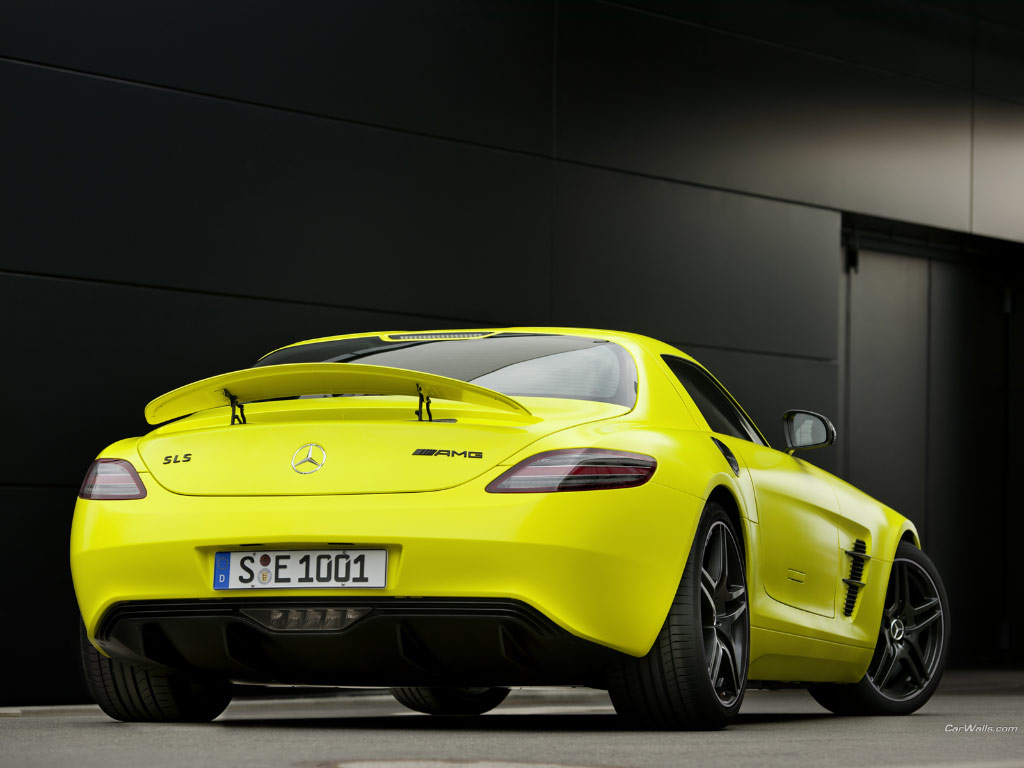 mercedes-benz sls amg e-cell #7
