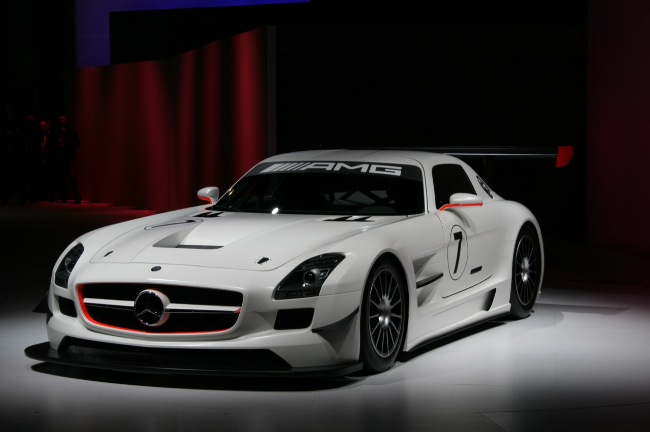mercedes benz sls amg gt3 photos and comments. Black Bedroom Furniture Sets. Home Design Ideas