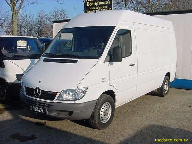 Mercedes benz sprinter 313 cdi photos and comments www for Mercedes benz sprinter 313