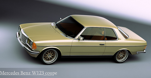 mercedes-benz w 123 coupe #0