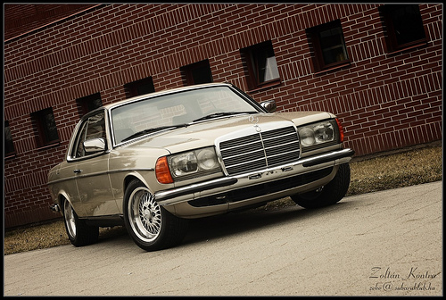 mercedes-benz w 123 coupe #5