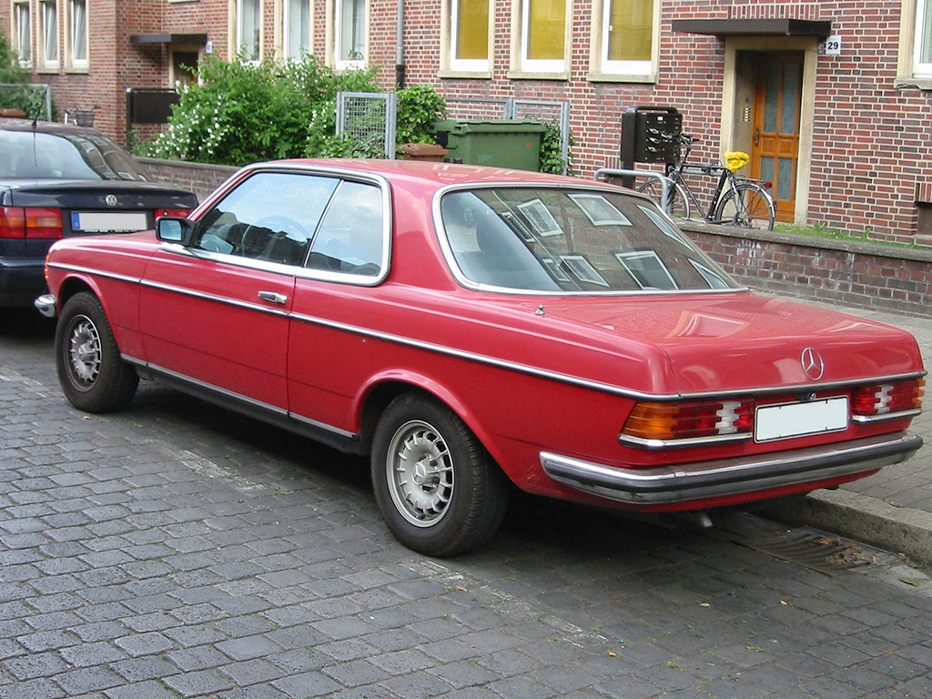 mercedes-benz w 123 coupe #7