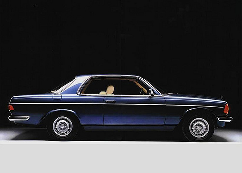 mercedes-benz w123 coupe #4