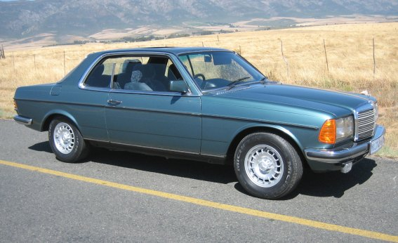 mercedes-benz w123 coupe #5
