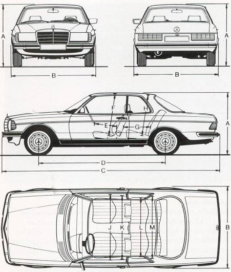 mercedes-benz w123 coupe #6