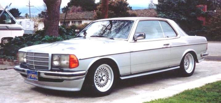 mercedes-benz w123 coupe #7
