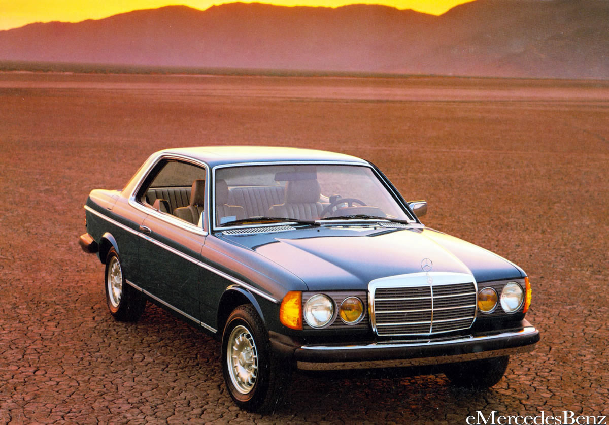 mercedes-benz w123 coupe #8