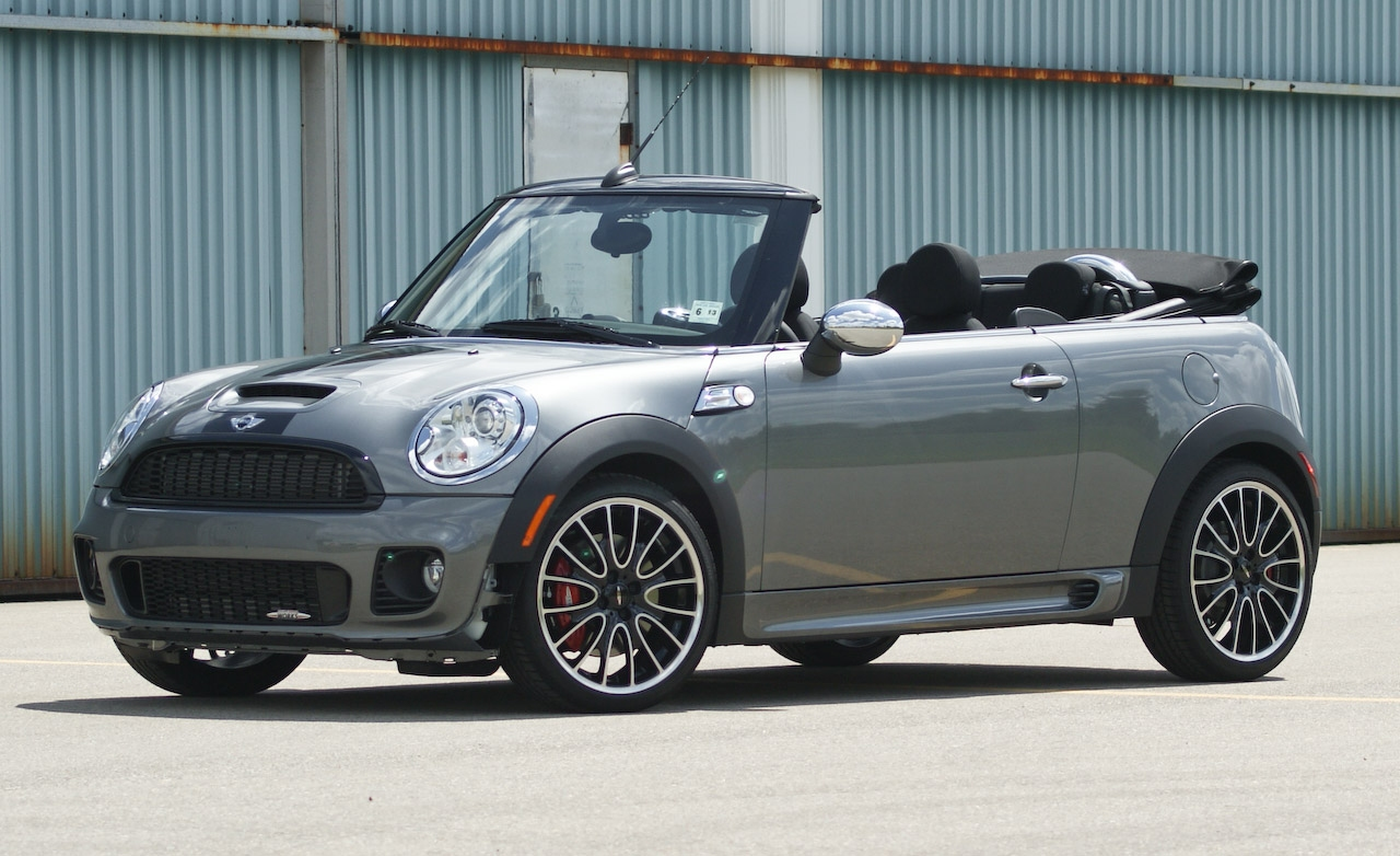 mini cooper convertible john cooper works photos and comments. Black Bedroom Furniture Sets. Home Design Ideas