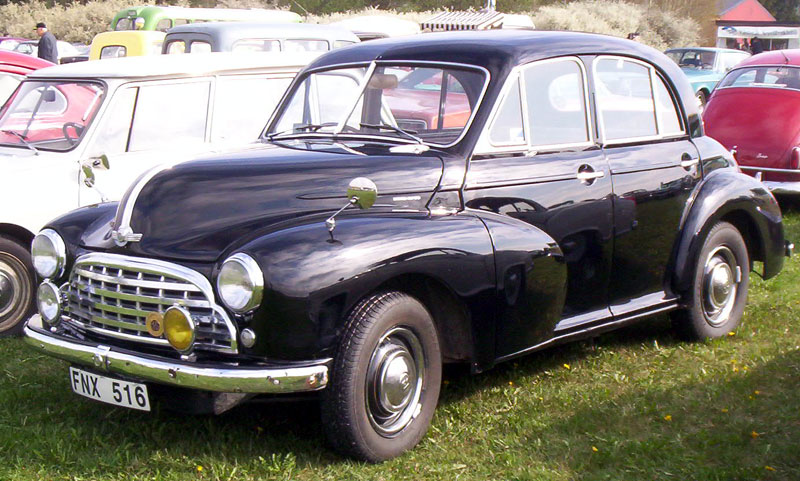 morris oxford saloon-pic. 1