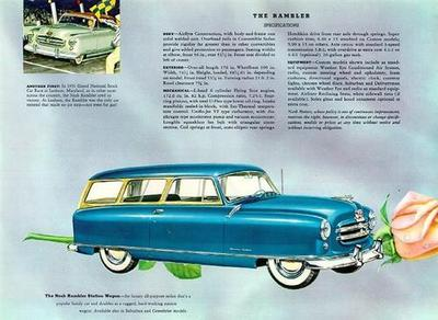 nash rambler station wagon