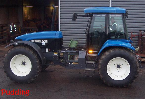 new holland tv 140 #4