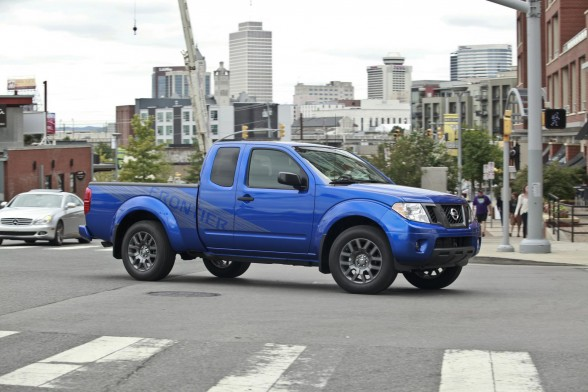 nissan frontier king cab pro-4x #8